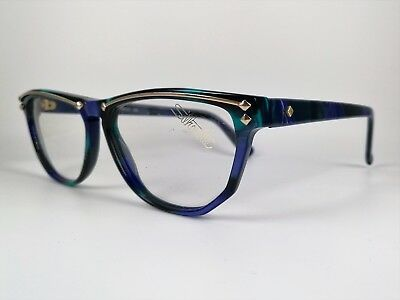 82f3eb154c4e ... SILHOUETTE Brille 1315 20-C3044 Glasses Original Vintage 80s Colorful  Eye Frame 2