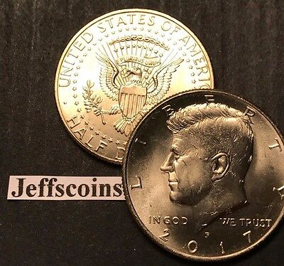 2018 P&D Kennedy Half Dollars Kenedy PD MINT ROLL Clad 50¢ 2 Uncirculated Coins 9
