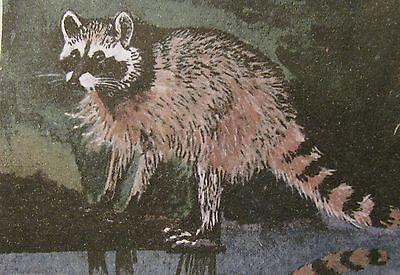 "C80   Original Acrylic Painting By Ljh   ""Bear""    Cat   Kitten 11"
