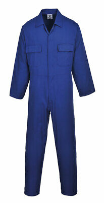 Portwest S999 Euro Polycotton Multipocket Work Coverall with Front Snap Closure 9