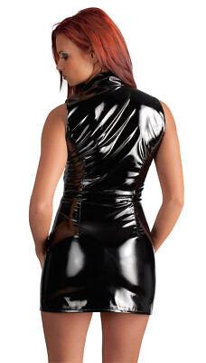 "Black Level Lack Minikleid L 44 46 Zip Kleid Abendkleid Partykleid sexy ""Abbiei"" 3"