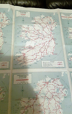 Tours and Throughroutes in Ireland (AA Folding Map)