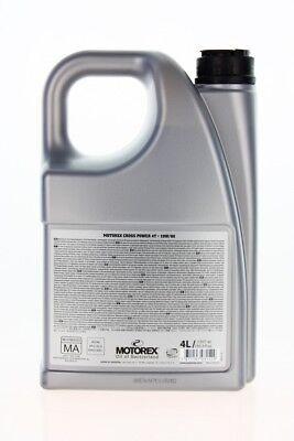 Motorex Cross Power 4T 10W60 4L (14,24 eur / 1L ) 3