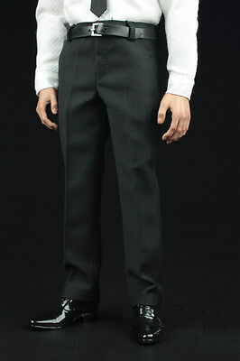 1//6 scale Black Color business Suit Agent Man clothes for Hot toys ❶US seller❶