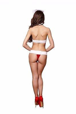 Sexy Krankenschwester Kostüm Bikini - Cosplay Rollenspiel Erotikkostüm