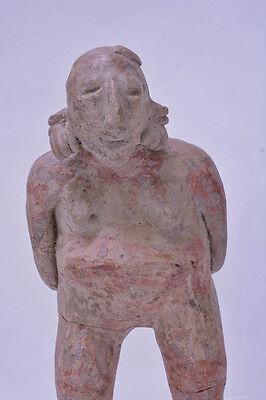 "Large Fine Pre-Columbian Pottery Figure  9 1/2"" x 5"" x 3"" 11"