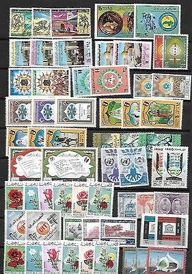 MIDDLE EAST & NORTH AFRICA 1940's-1978 LARGE COLLECTION OF 312 MINT MOSTLY COMP
