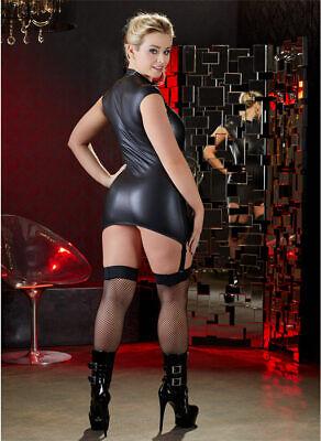 "Wetlook Straps-Kleid 44 46 L Zip Minikleid Dessous Reizwäsche ""Juanitai"" 4"