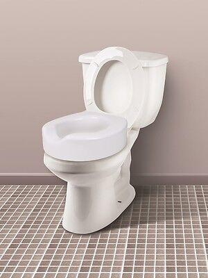 Tremendous Quick Lock Raised Toilet Seat Elevated Carex Standard Creativecarmelina Interior Chair Design Creativecarmelinacom