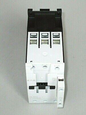 XTCE040D00TD Contactor 3P FVNR 40A Frame D 24-27VDC Coil Eaton