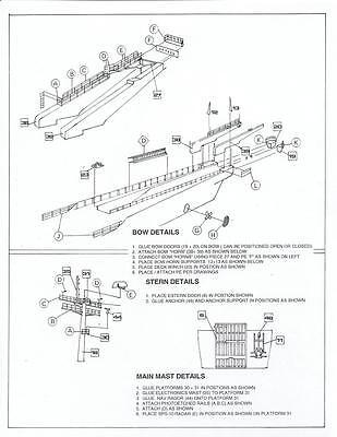 Newport  LST-1179 Full Hull RESIN /& PE KIT 1985 Version 1//350 #4169 U.S.S
