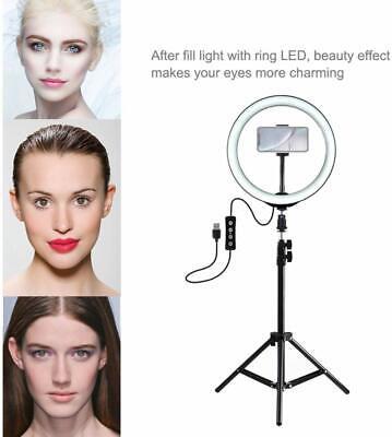Anello Luminoso Treppiedi Video Luce Led Fotografia Cellulare Per Youtube Tiktok 4
