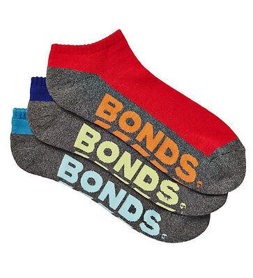 10 Pairs Brand New Bonds Men's Sports Ankle Low Cut Running Socks Sz 6 10 11 14 6
