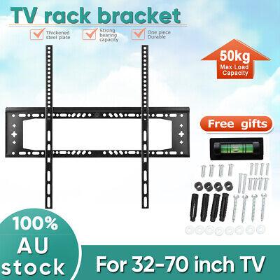 TV WALL MOUNT BRACKET LCD LED Plasma Flat Slim 32 40 42 47 50 52 55 60 65 70 AU 5