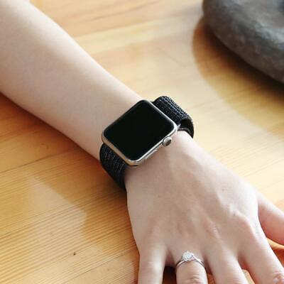 Cinturino per Apple Watch 42MM 44MM Morbido Nylon Sport Loop 8