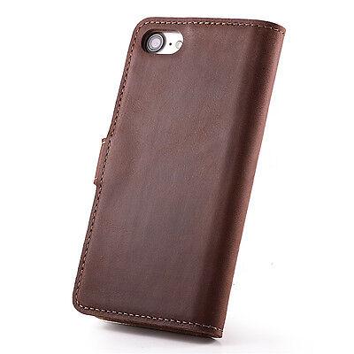 Handy-zubehör Farbe Blau Premium Echtes Ledertasche Schutzhülle Tpu Wallet Flip Case Nubuk