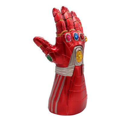 Iron Man Infinity Gauntlet Nano LED Gloves Thanos Avengers 4 Endgame Toys Aults 4