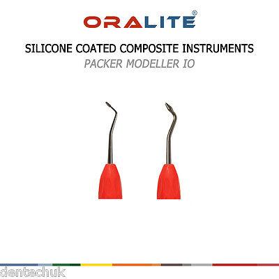 Packer Modeller Silicone Coated Composite Filling Dental Hand Instrument Ce 3