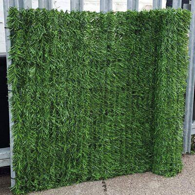 Best Artificial Conifer Leaf Screening Hedging Wall Garden Fence Landscaping 3