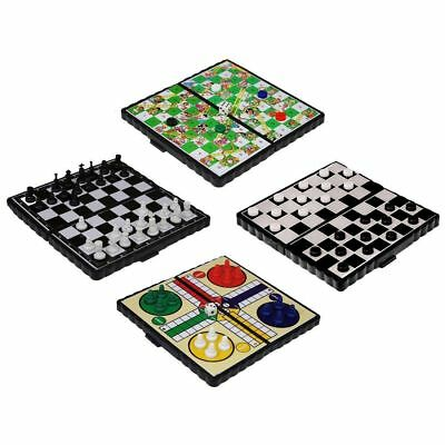 Mini Magnetic Travel Board Games - Chess , Ludo , Snakes and Ladders,  Draughts 6