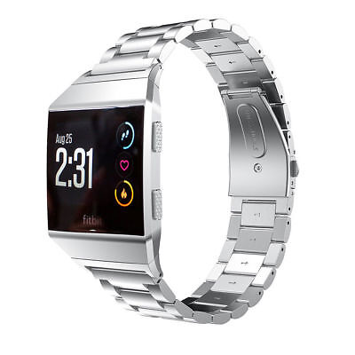 Stainless Steel Bracelet For Fitbit ionic Band Watch Metal Wrist Band Strap 4