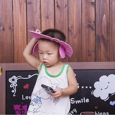Bathroom Soft Shower Wash Hair Cover Head Cap Hat for Child Toddler Kids Bath BH