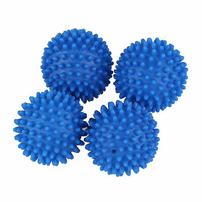 Dryer Balls 4 Pack Blue Reusable Dryer Balls Replace Laundry Drying Fabric Us 4