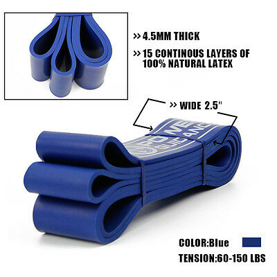 Exercise Bands Latex Resistance elastic  Band -Pull Up Assist Bands Fitness GYM 6