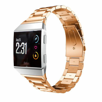 Stainless Steel Bracelet For Fitbit ionic Band Watch Metal Wrist Band Strap 7