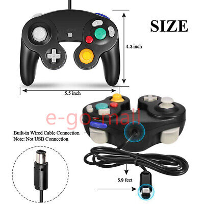 2Pack Wired NGC Controller Gamepad for Nintendo GameCube & Wii U Console Switch 9
