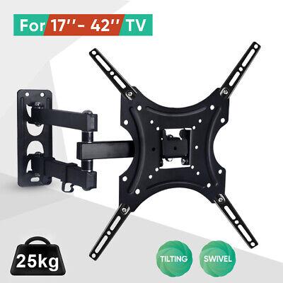 Tilt TV Wall Bracket Mount Flat LED LCD 32 37 42 46 50 52 55 60 65 inch LG Sony 2