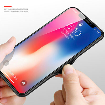 Hybrid Soft TPU Fabric Case Shockproof Cover for iPhone XS MAX/XR X 6s 7 8 Plus 10