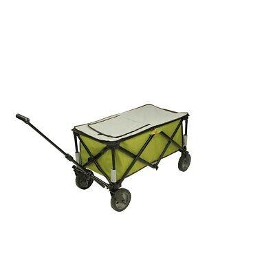 Chariot à glacière à roulettes XL sac de réfrigération chariot de plage pliable 9