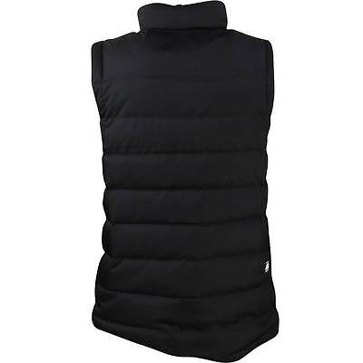 Men's Nike Quilted Down Fill Vest Gilet 866024-010 Black S XL Black L M