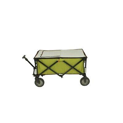 Chariot à glacière à roulettes XL sac de réfrigération chariot de plage pliable 10