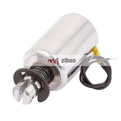 MQ8-Z45B DC 12V 10mm Stroke Force Pull Type Solenoid Electromagnet 3.8x 6cm 3