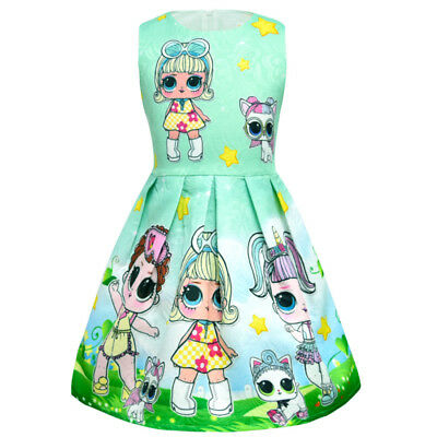 lol surprise dolls Game Girls Dresses Skirts Fancy dress up party gifts 9