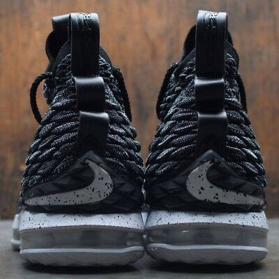 newest 1eab3 194a8 ... Nike LeBron 15 XV Ashes Black White Oreo Size 12. 897648-002 2