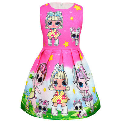lol surprise dolls Game Girls Dresses Skirts Fancy dress up party gifts 10