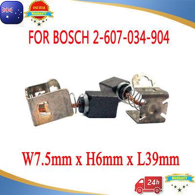 6 Carbon Brushes For Bosch 2 607 034 904 GSR GSB 12V 14.4V 18V 24V 36V VE-2 Li