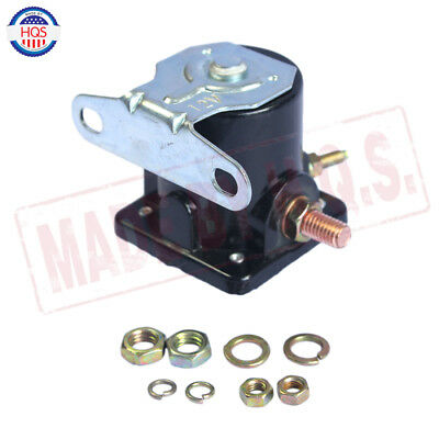 Black 12V STARTER SOLENOID RELAY SW-3 Ford Jeep Lincoln Mercury 1958-1991 4