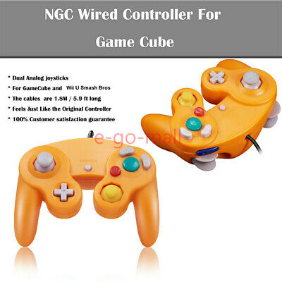 2Pack Wired NGC Controller Gamepad for Nintendo GameCube & Wii U Console Switch 6