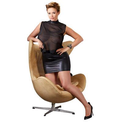 """Queen Size Minikleid Stehkragen sexy Cocktailkleid Kleid XL 2XL 3XL 4XL """"Agnes"""" 3"""