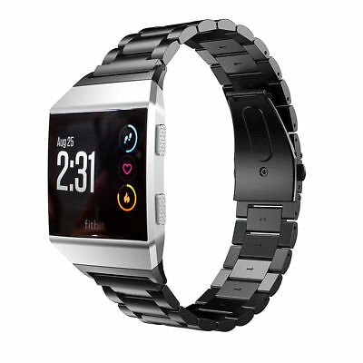 Stainless Steel Bracelet For Fitbit ionic Band Watch Metal Wrist Band Strap 5
