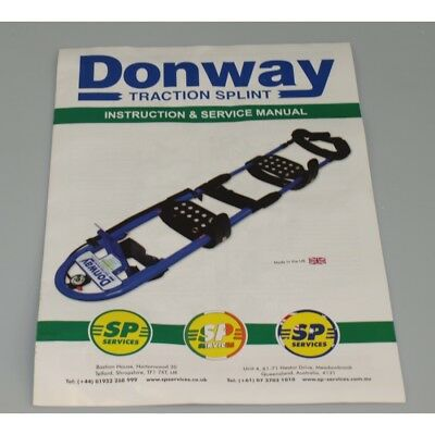 Donway Traction Splint Pneumatic traction splint for leg injuries 10