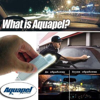 6Pcs Windshield Glass Treatment Water Rain Repellent Repels AQUAPEL Applicator 9