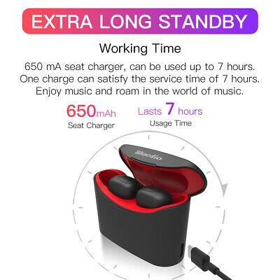 Bluetooth Earphone Sports Bluedio T-elf Wireless TWS  In ear Headset Mic 3