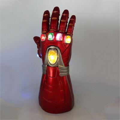 Iron Man Infinity Gauntlet Nano LED Gloves Thanos Avengers 4 Endgame Toys Aults 6