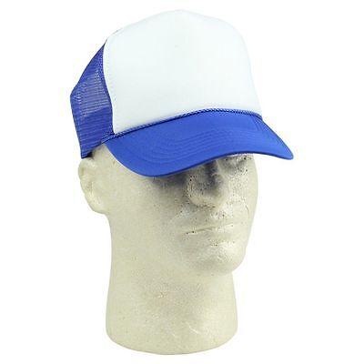 338a583aa0469 ... Kid s Trucker Hat Ball Cap Youth Caps Mesh Blank Plain Blue Gray Black  White 11
