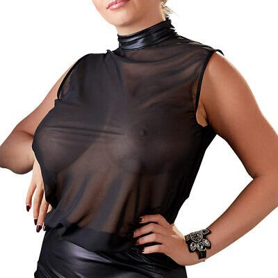 """Queen Size Minikleid Stehkragen sexy Cocktailkleid Kleid XL 2XL 3XL 4XL """"Agnes"""" 5"""